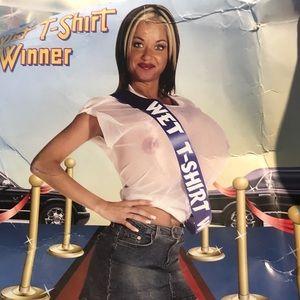 Wet Tshirt Winner COSTUME